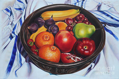 Fruit Of The Spirit Art Print by Ilse Kleyn