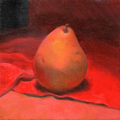 Painting - Fruit Of The Spirit- Pear 2 by Timothy Chambers