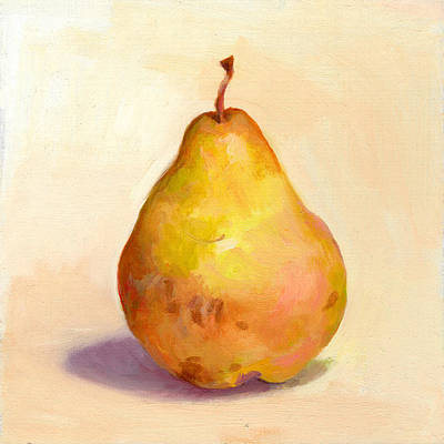 Fruit Of The Spirit- Pear 3 Print by Timothy Chambers