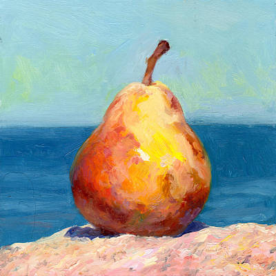 Painting - Fruit Of The Spirit- Pear 4 by Timothy Chambers