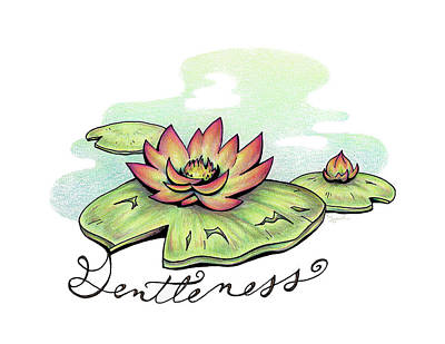 Fruit Of The Spirit Series 2 Gentleness Art Print