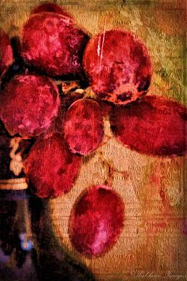 Photograph - Fruit Of The Vine by Wallaroo Images