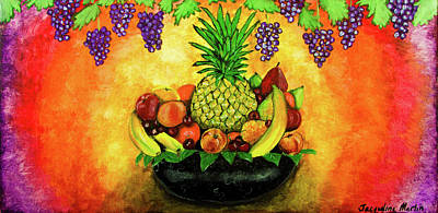 Painting - Fruit Passion by Jacqueline Martin