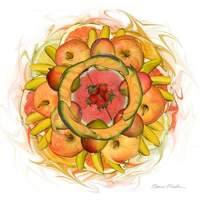 Fruit Salad Art Print by Bruce Frank