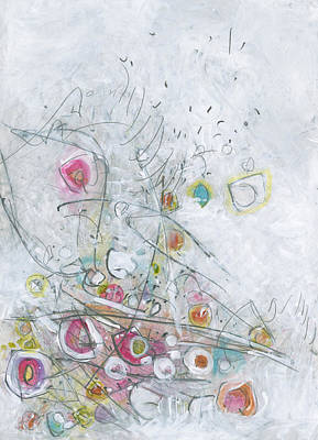 Painting - Fruit Salad On The Fourth Of July Picnic Table by Christine Alfery