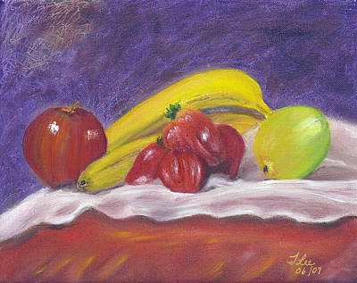 Painting - Fruit Smoothie by Tracie L Hawkins