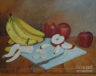 Painting - Fruit Snack by Michael Nowak
