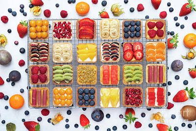 Photograph - Fruit Squares  by Tim Gainey