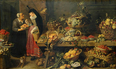 Painting - Fruit Stall by Frans Snyders