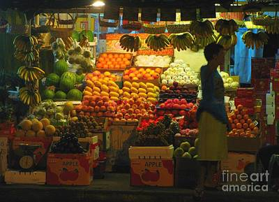 Photograph - Fruit Stand by Christopher Shellhammer