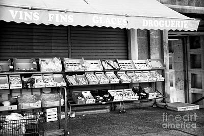 Photograph - Fruit Stand In Marseille by John Rizzuto