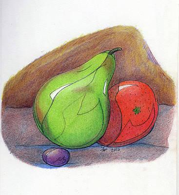 Painting - Fruit Still 34 by Loretta Nash