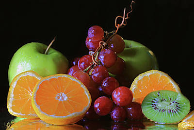 Photograph - Fruit Still Life by Angela Murdock
