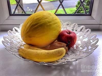 Photograph - Fruit Still Life by Joan-Violet Stretch