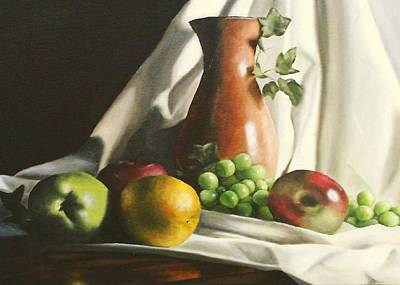 Painting - Fruit Still Life by Lori Keilwitz