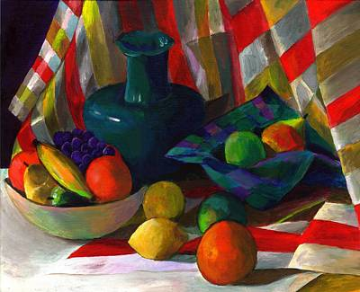 Fruit Still Life Art Print by Peter Shor