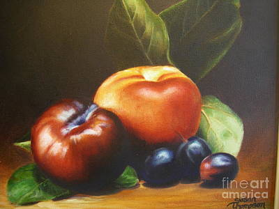 Painting - Fruit by Susan Thompson