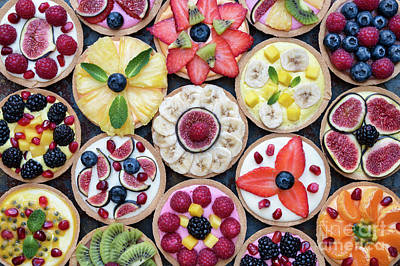 Photograph - Fruit Tarts  by Tim Gainey