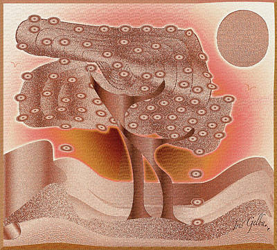 Fruit Tree 2 Art Print by Iris Gelbart