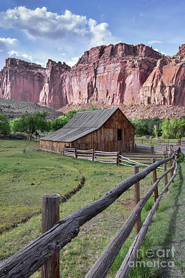Photograph - Fruita Homestead by Debbie Green