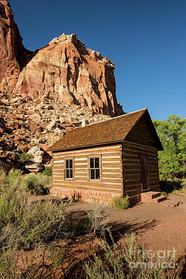 Photograph - Fruita Schoolhouse - Capitol Reef National Park - Utah by Gary Whitton
