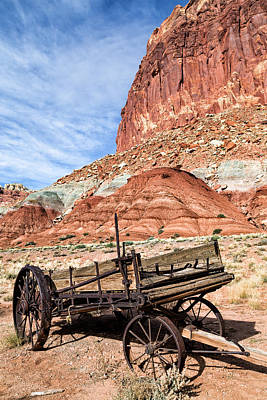 Photograph - Fruita Wagon by Kathleen Bishop