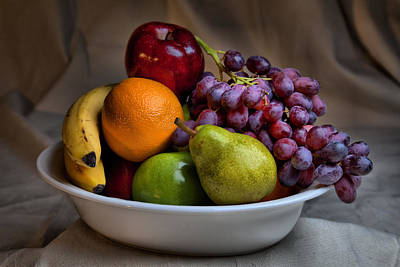 Photograph - Fruitbowl by CA  Johnson