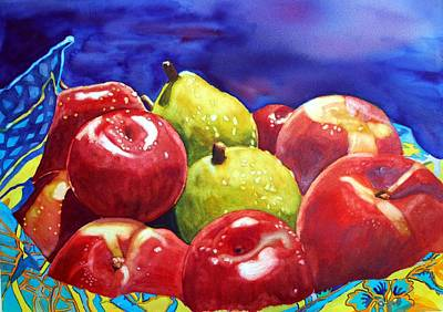 Fruitfully Yours Art Print by Gerald Carpenter