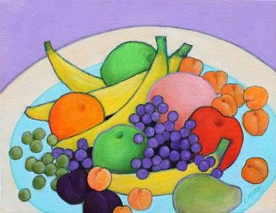 Fruitilicious Art Print by Lorraine Klotz