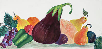 Painting - Fruits And Veggies by Pati Pelz