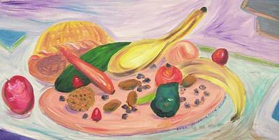 Fruits And Vegitables  Art Print