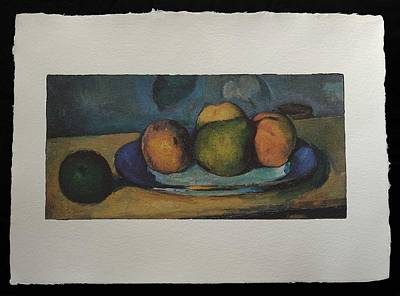 Painting - Fruits  by Cezanne Paul