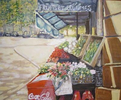 Fruits Et Legumes Art Print by Julie Todd-Cundiff