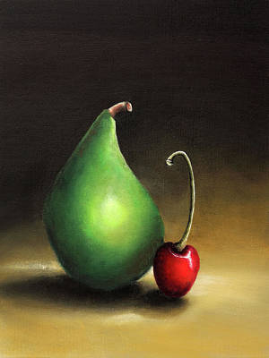 Healthy Eating Painting - Fruits For The Kitchen by Nirdesha Munasinghe