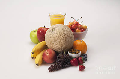 Fruits Art Print by George Mattei