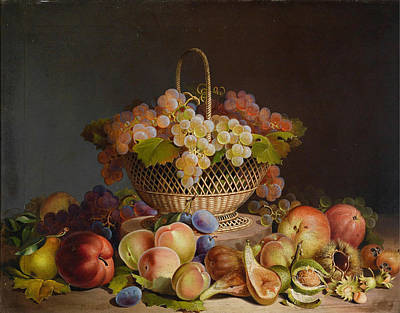 Painting - Fruits by Celestial Images