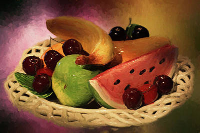Photograph - Fruits Of Summer by Donna Kennedy