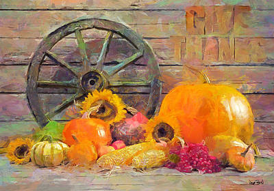 Painting - Fruits Of Thanks by Wayne Pascall