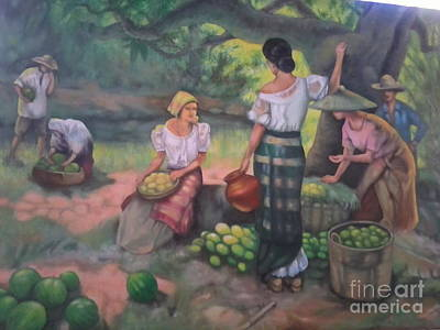 Fruits Seller Original