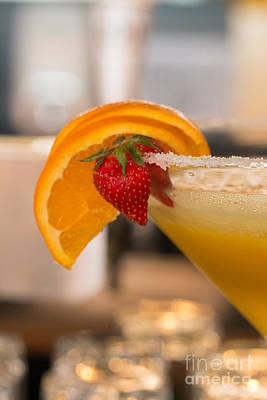 Martini Royalty-Free and Rights-Managed Images - Fruity Cocktail by Amanda Mohler