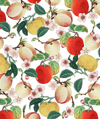 Digital Art - Fruity Summer by Uma Gokhale