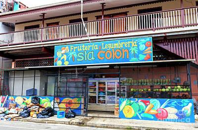 Photograph - Fruteria Y Legumbreria Isla Colon by John Rizzuto