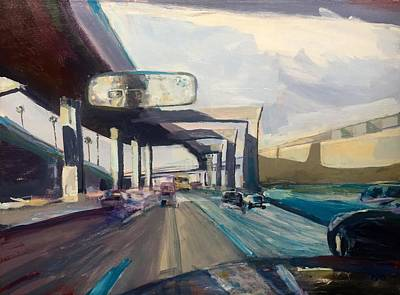 Painting - Frwy1 by Vaughan Davies