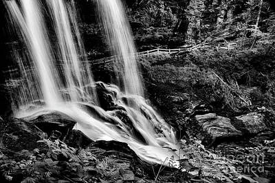 Photograph - Fry Falls Overlook by Paul W Faust - Impressions of Light