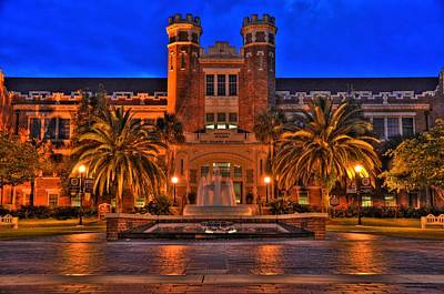Florida State Photograph - Fsu Westcott by Alex Owen