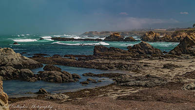 Photograph - Ft Bragg Coast by Bill Gallagher