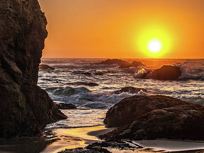 Photograph - Ft Bragg Sunset by Bill Gallagher