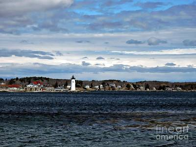 Photograph - Ft. Constitution Lighthouse #1 by Marcia Lee Jones