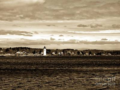 Photograph - Ft. Constitution Lighthouse #2 by Marcia Lee Jones