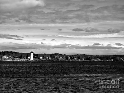 Photograph - Ft. Constitution Lighthouse #3 by Marcia Lee Jones